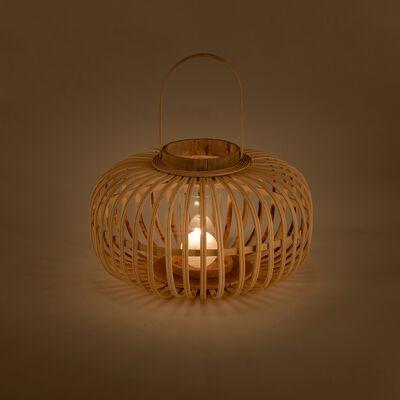 Lanterne en bambou H21cm-KIJANI