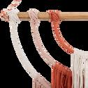 Décoration style macramé rose beige & orange l65 cm-SOGNI