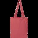 Housse de couette en coton rouge arbouse 240x220cm-CALANQUES