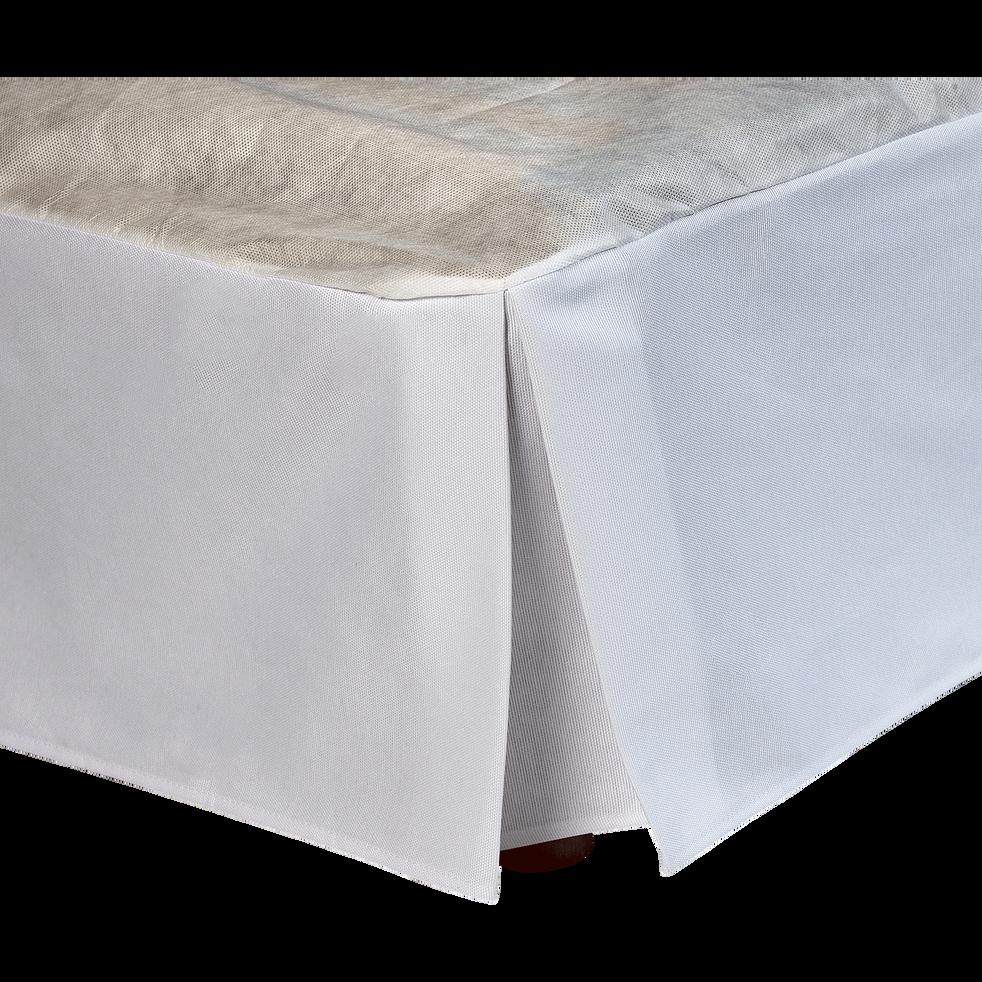 Cache sommier blanc 32 cm   160x200 cm   OPALINE   160x200 cm   alinea