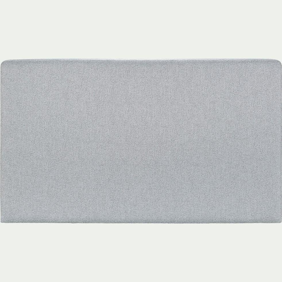 Tête de lit droite 110x170cm gris clair-MELETTE