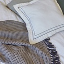 Plaid en coton à motifs ethniques 130x170cm-PARA