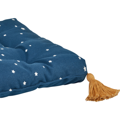 Matelas enfant 64x32x4cm bleu figuerolles-ETOILE