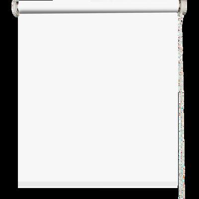 Store enrouleur uni tamisant blanc 90x190cm-TAMISANT