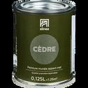Peinture acrylique mate multi-supports 0.125L vert cèdre-PEINTURE
