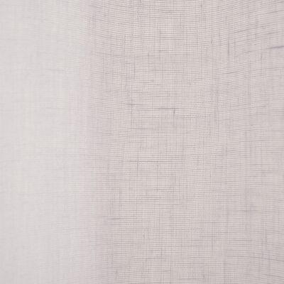 Voilage à oeillets gris borie 135x360cm-DUNE