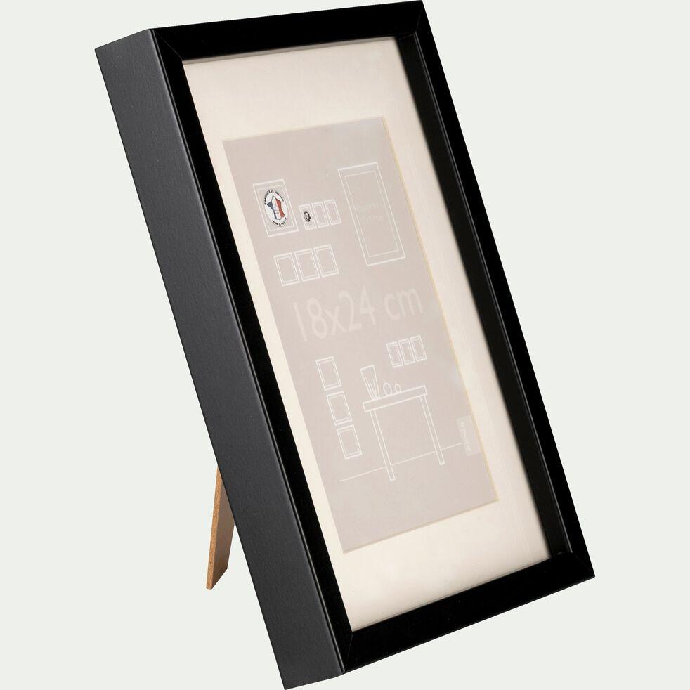 Cadre photo en bois - 18x24cm noir-Hapa