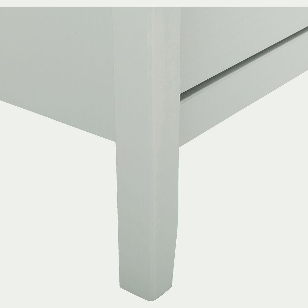 Commode en bois 6 tiroirs L142,50xl39xH80cm - vert olivier-LISA