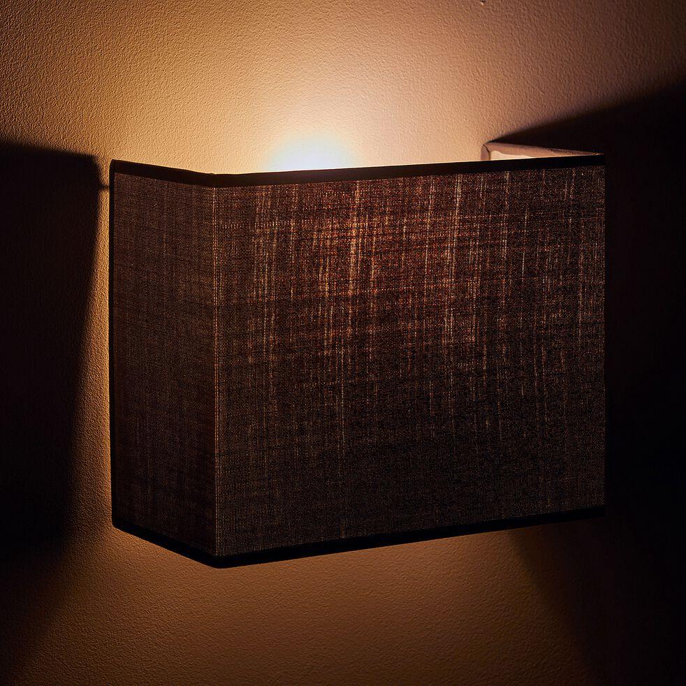 Applique non électrifiée en tissu bleu figuerolles 24x20cm-MISTRAL