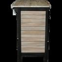 Meuble de salle de bains en acacia massif 120cm-PITAYA
