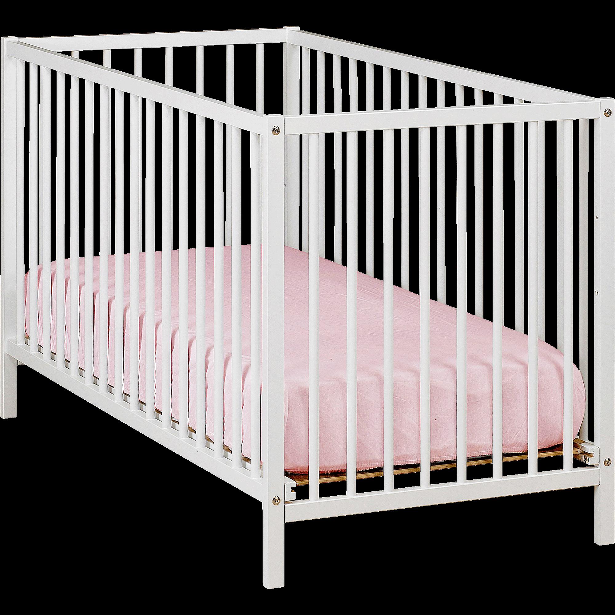 lit de bébé à barreaux