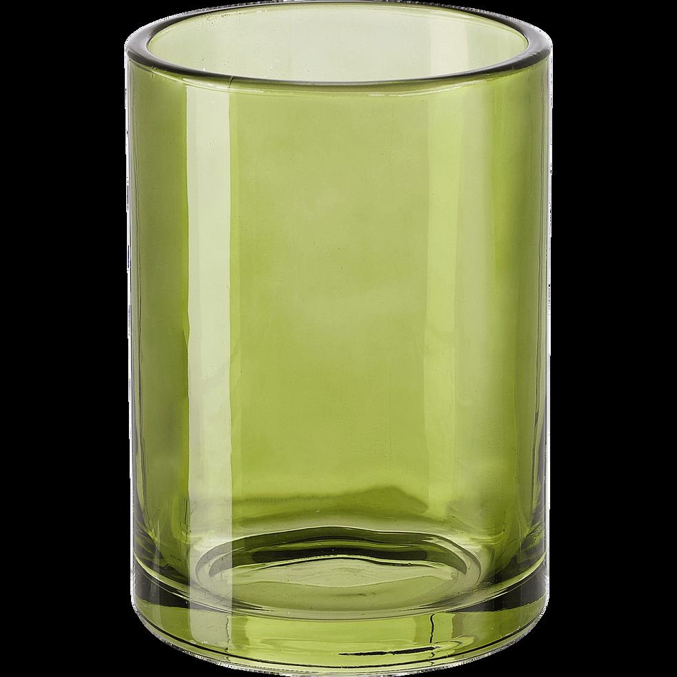 Gobelet en verre vert-OSCO