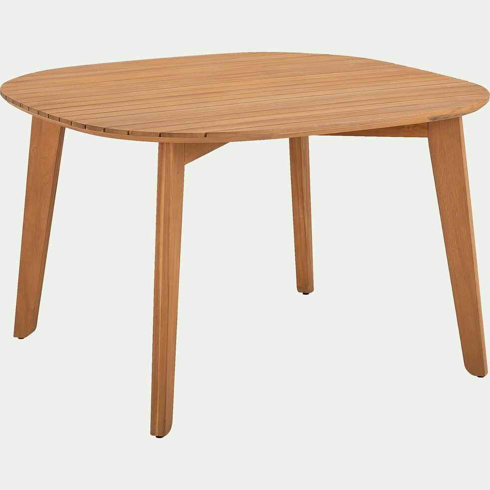 Ensemble table (5 places) et chaise de jardin en acacia