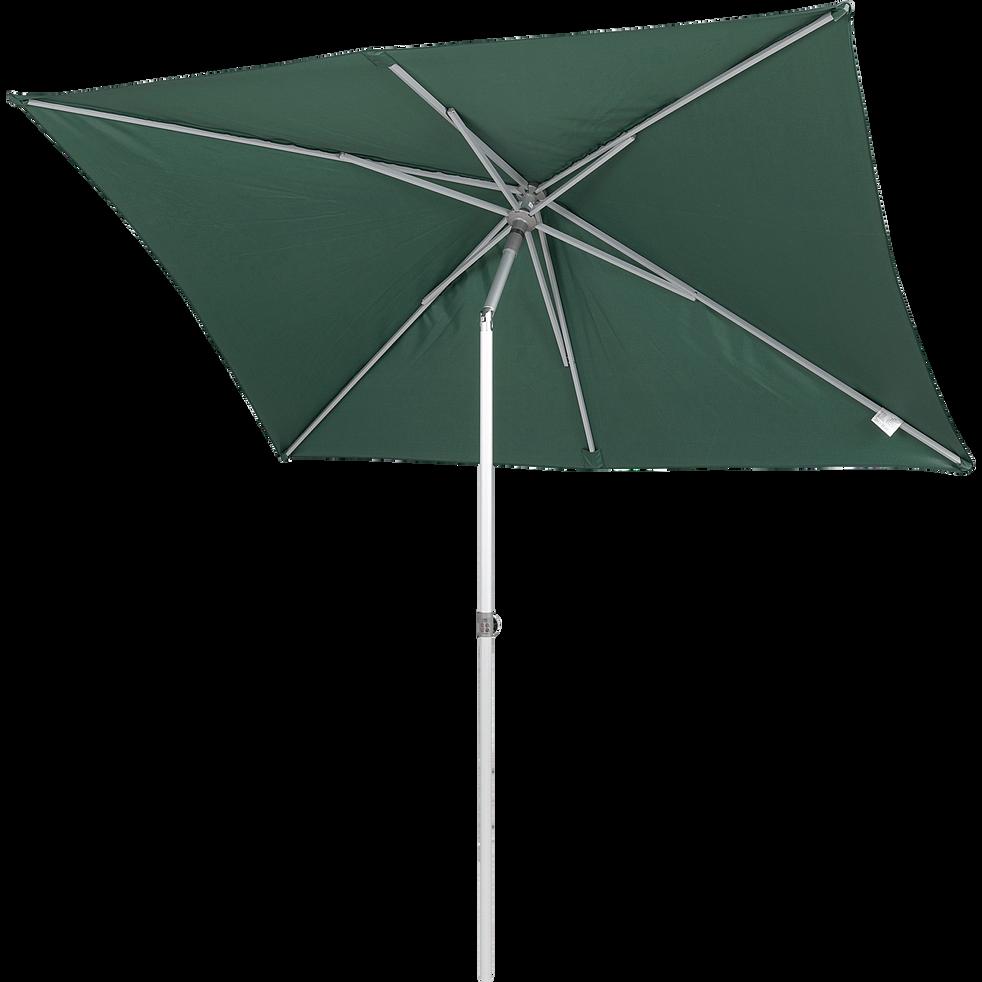 Parasol de balcon rectangle vert foncé 200x250 cm-ACT