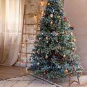 Sapin de Noël vert H210cm-OLLINE