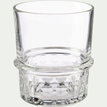 Gobelet en verre transparent 38cl-JOHN