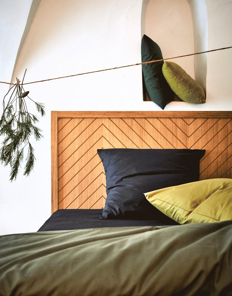 t te de lit couleur ch ne l160 cm oscillo l160 cm catalogue storefront alin a alinea. Black Bedroom Furniture Sets. Home Design Ideas