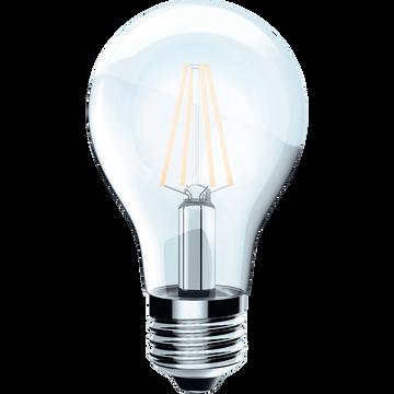 Ampoule LED transparente D6cm blanc chaud culot E27-STANDARD