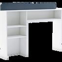 Tête de lit rangeante Blanc pour lit - L90 cm-FILOU
