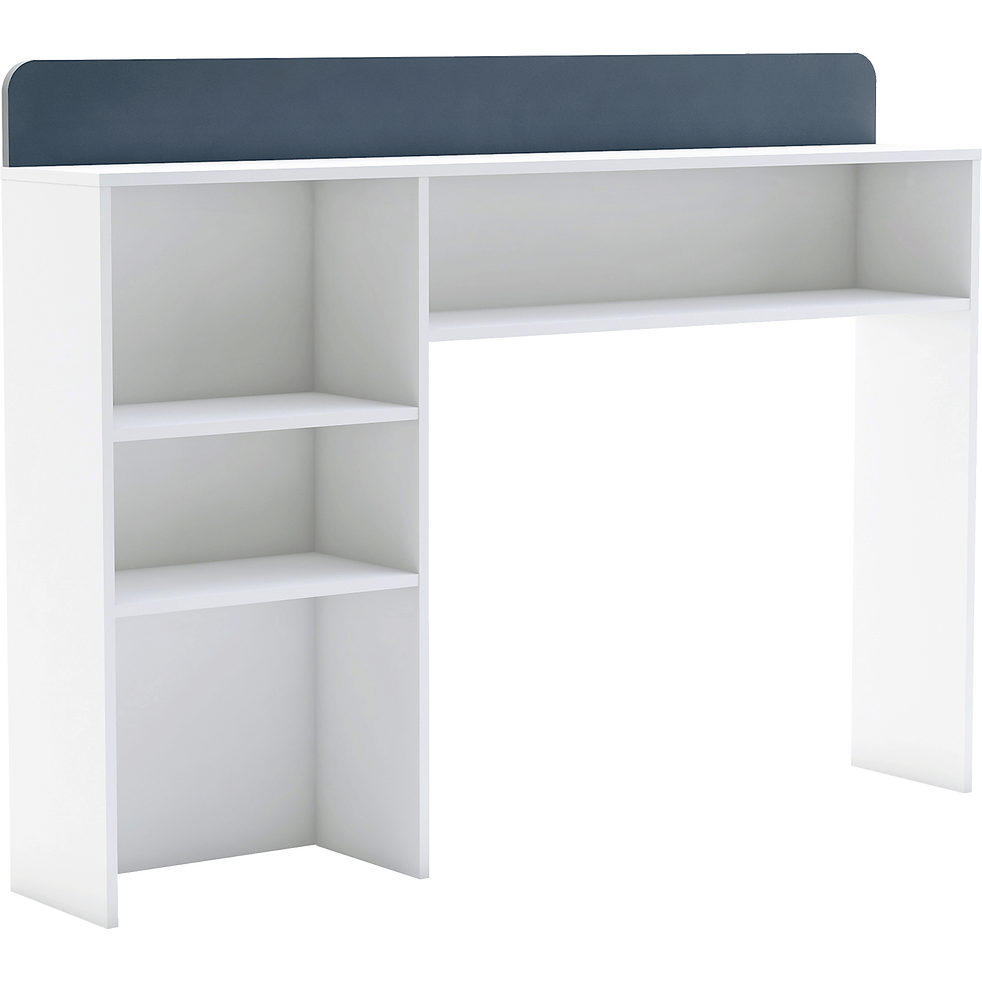 t te de lit rangeante blanc pour lit l90 cm filou t tes de lit enfant alinea. Black Bedroom Furniture Sets. Home Design Ideas