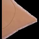 Coussin rose argile 40x40cm-SAVONA
