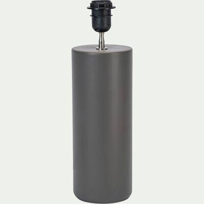 Pied de lampe en céramique vert cèdre H40cm-SYL