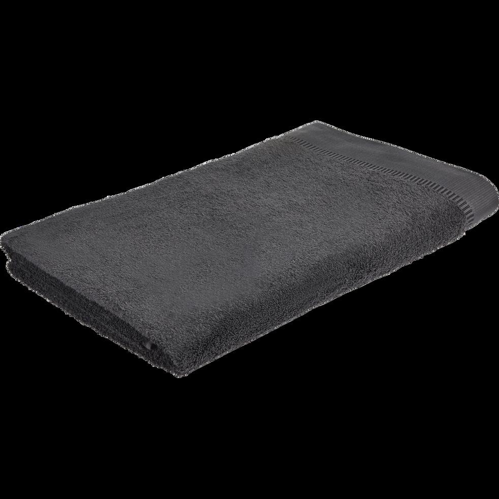 Drap de bain 100x150cm gris-ARROS