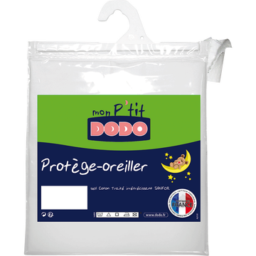 Protège oreiller bébé 40x60cm-P'TIT DODO