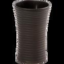 Gobelet plastique noir-Slup