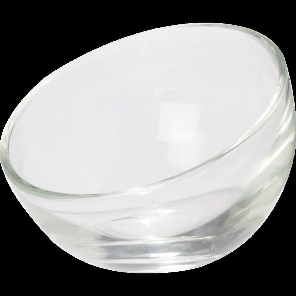 Coupe à glace en verre transparent-BUBBLE