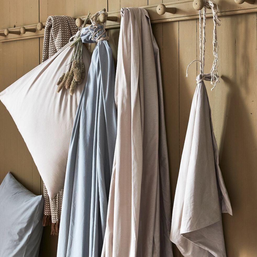 Lot de 2 taies d'oreiller en coton - bleu calaluna 50x70cm-CALANQUES