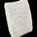 Coussin carré imitation fourrure 40x40cm-Sofy