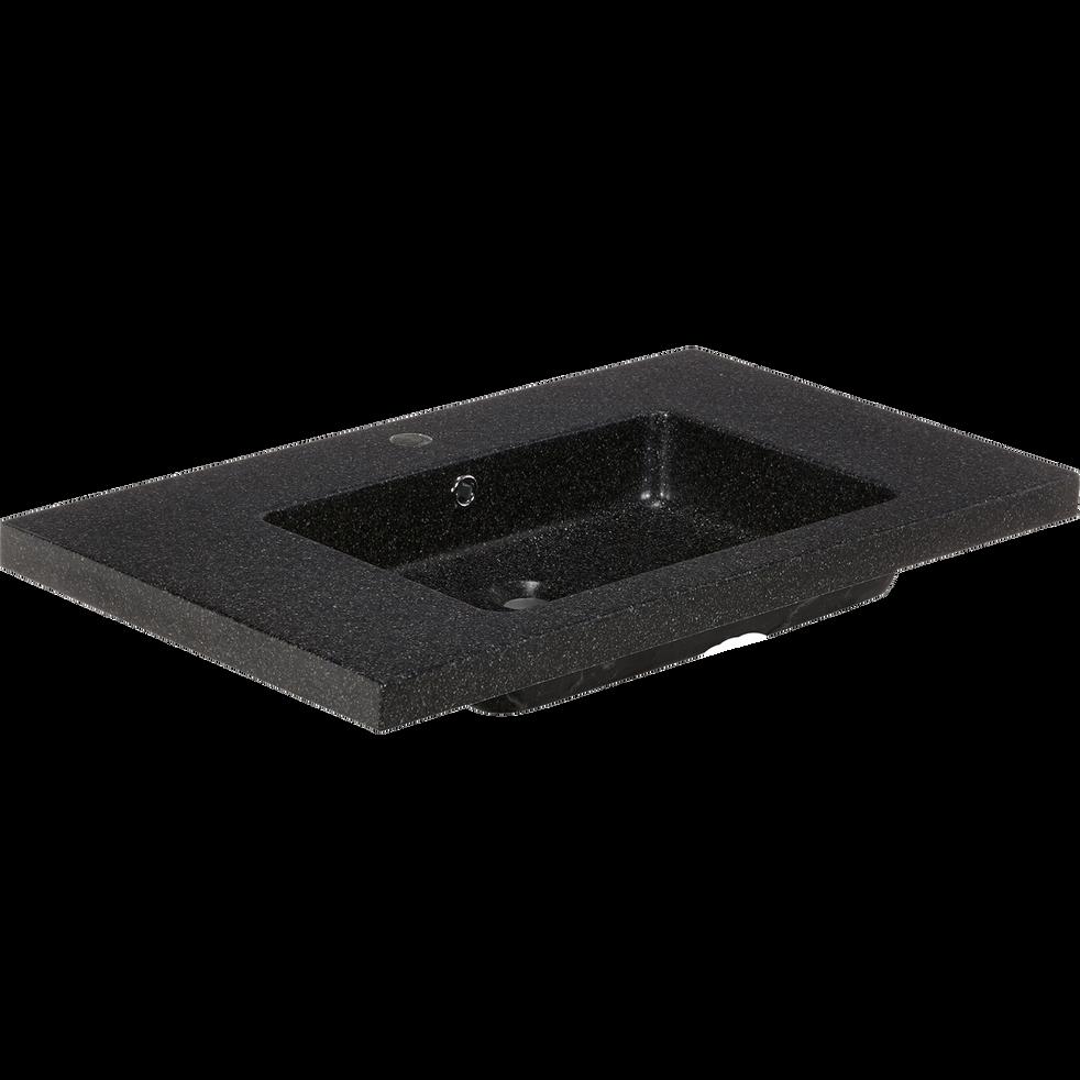 plan vasque en pierre reconstitu e l80cm source. Black Bedroom Furniture Sets. Home Design Ideas