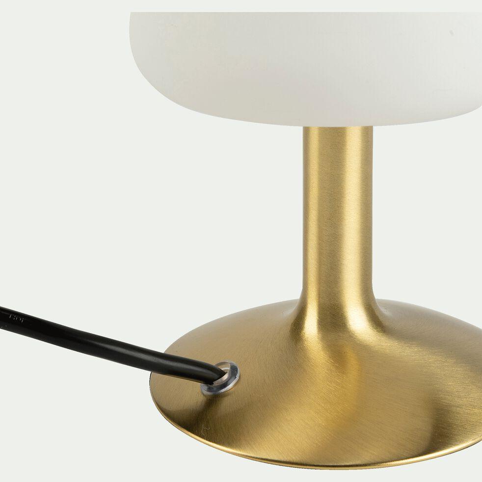 Lampe à poser tactile en métal H20cm - doré-CARELET