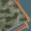 Chilienne de jardin à motif vert cèdre-UDINE