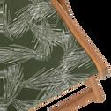 Chilienne de jardin à motif pin d'Alep vert cèdre-UDINE