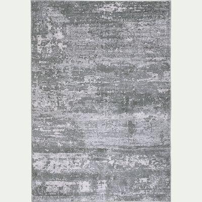 Tapis effet élimé - vert 160x230cm-Baumes