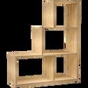 Étagère escalier coloris chêne L94cm-BRIK
