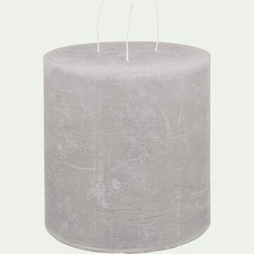 Bougie lanterne - gris borie D15xH15cm-BEJAIA