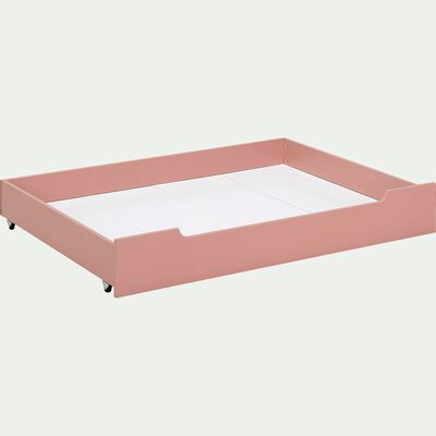 Tiroir sous lit en bois - rose salina-POLLUX