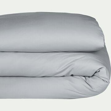 Housse de couette en coton - gris borie 240x220cm-CALANQUES