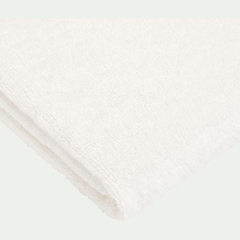 Drap de douche en coton - blanc ventoux 70x140cm-Rhodes