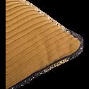 Coussin en lin et coton camel 40x40cm-SORI
