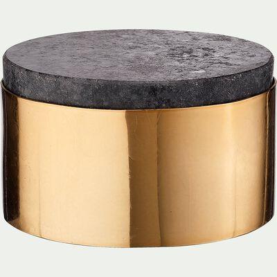 Boîte décorative cuivrée D10cm-ENZO