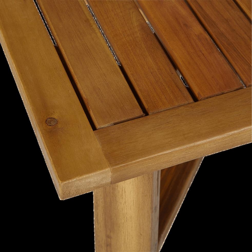 Table basse de jardin pliante en acacia-Guérande