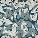 Papier peint intissé motif laurier bleu 10m-LAURIER