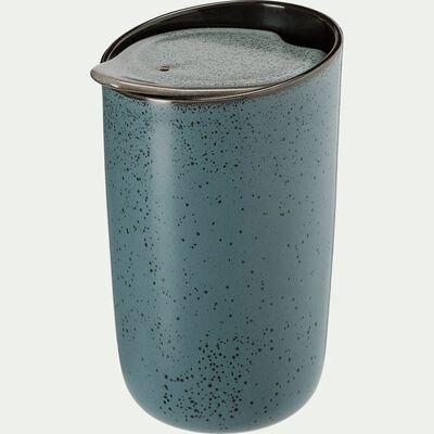Mug en grès bleu 32cl-BAMB