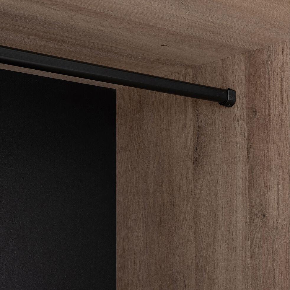 Colonne de rangement avec étagères finition chêne-CASTEL