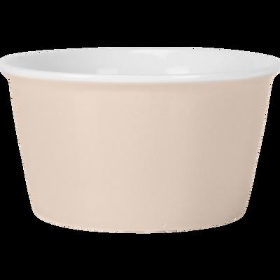 Coupelle en porcelaine rose grège D12cm-CAFI