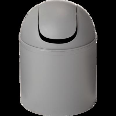 Poubelle de salle de bains 1.5L grise-One
